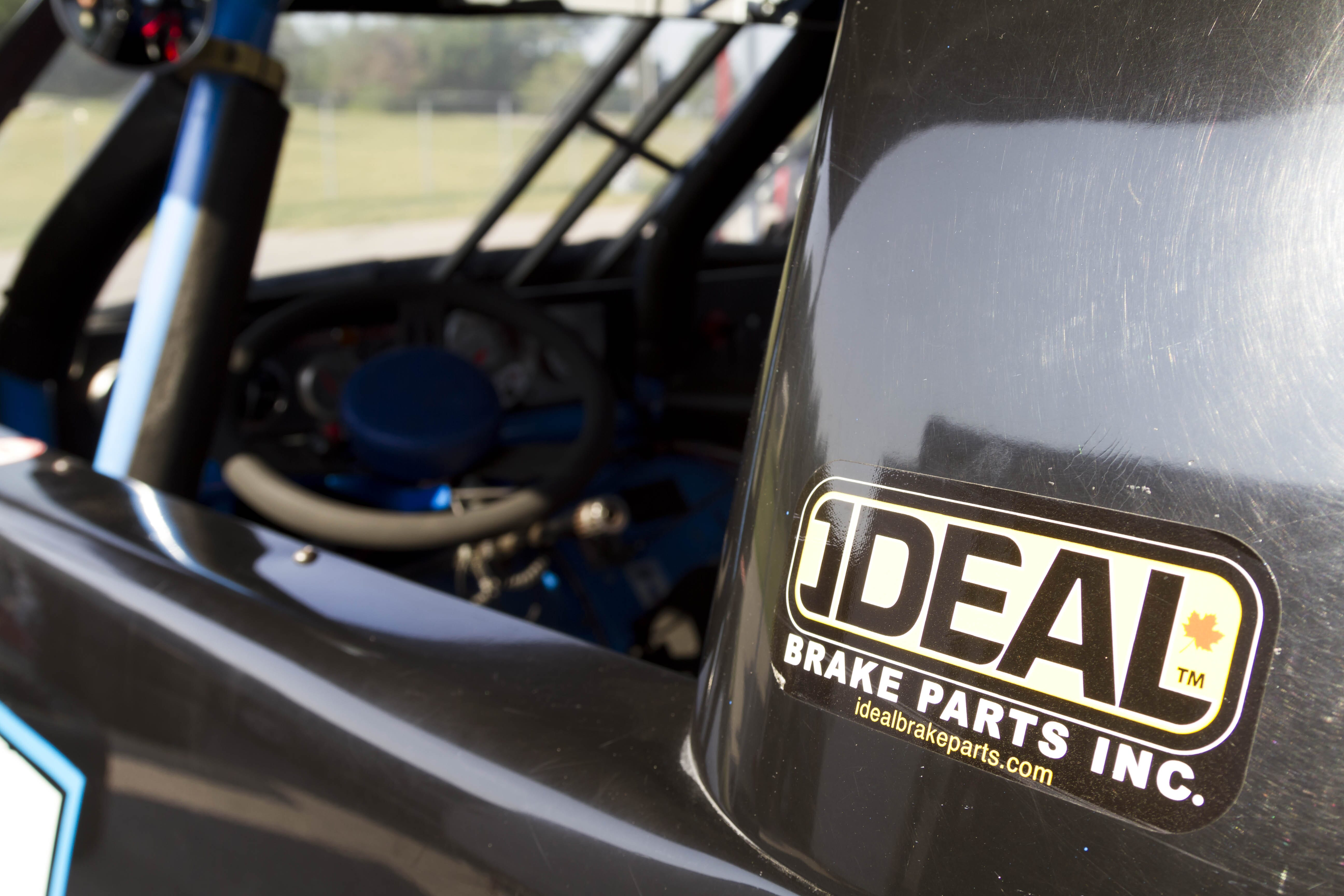 Ideal Brake Parts is the major sponsor for Chris Lawson's Ford F-150