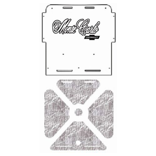 Hood Insulation Pad Cover for 1970-1972 Chevrolet A-Body w