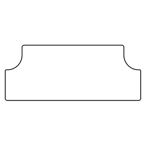 Trunk Floor Mat Cover for 68-72