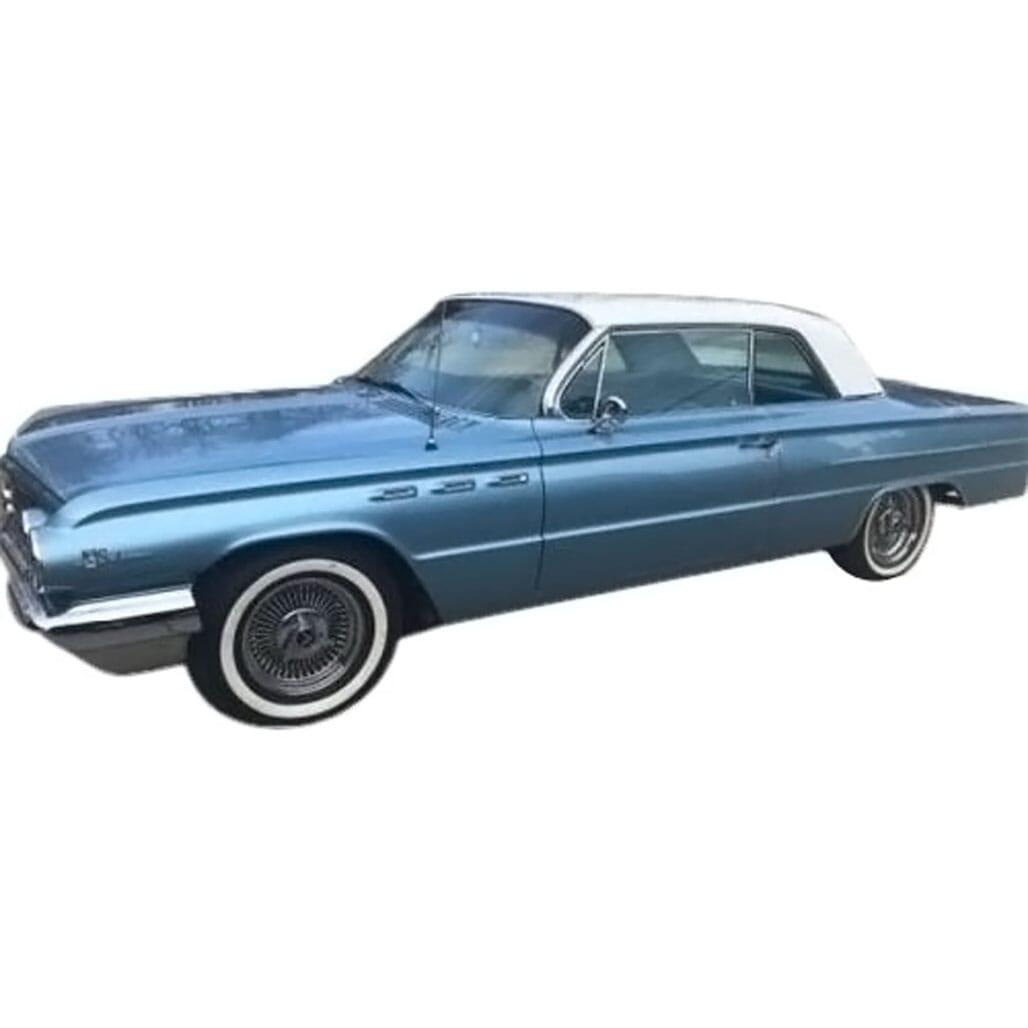 Headliner for 1962 Pontiac Catalina 4 Door Hardtop  Star Silver